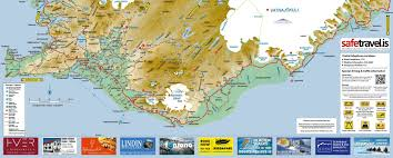 iceland map map of south iceland visit south iceland