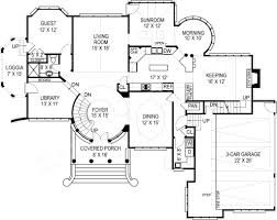 House Plans With Guest House Kildare Castle Luxury House Plans Spacious House Pans