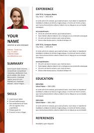 resume format in word file 2007 state dalston newsletter resume template