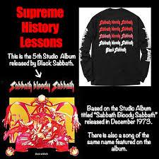 Black Sabbath Memes - supreme black sabbath history lessons for the uninformed album