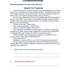 reading comprehension worksheets 7th grade free printable and free