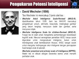 Alat Tes Wais inteligensi materi presentasi psikologi pendidikan oleh ppt