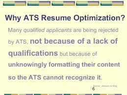 ats resume optimize your resume for applicant tracking systems 2016