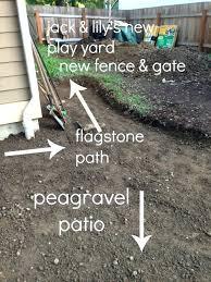 Gravel Calculator For Patio Create A Diy Pea Gravel Patio The Easy Way Pea Gravel Patio Base