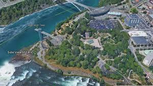 Niagra Falls Map Niagara Falls In The Winter United States U2013 Wandering Kevin