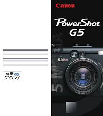 canon digital camera g5 user guide manualsonline com