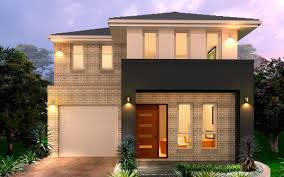 Home Design Double Story New Home Builders Oslo 21 5 Double Storey Home Designs