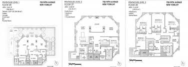 penthouse floorplans for midtown u0027s crown building include two