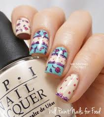 piggieluv eurovision song contest nail art cute country nail