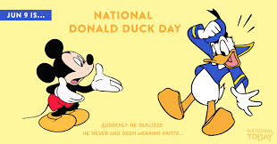 national donald duck june 9 national today