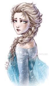 frozen sad queen elsa lehanan deviantart