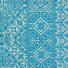 home decor fabric uk roman blinds in xilia fabric moroccan blue 7621 03 romo