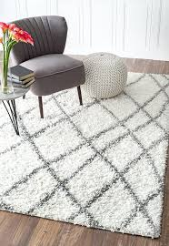 Afro Shag Rug Coffee Tables Grey And White Shag Rug Faux Fur Rug Grey White