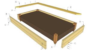 captains bed plans free plans diy woodworking cabinet doors