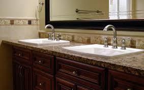 sensational design bathroom vanity with granite countertop unique