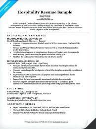 hospitality resume template 2 hotel management resume exles hospitality front desk sle