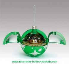 christmas tree ball made by mr christmas with animated scene and