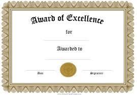 blank award certificates business certificate elegant award