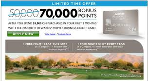 Chase Visa Business Credit Card Marriott Business Credit Card 70000