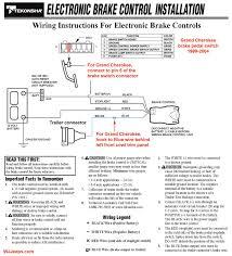 electric brake controller wiring diagram tekonsha prodigy p3 rv