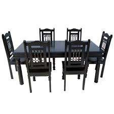 7 piece dining room sets ebony 7 piece dining room table chair set