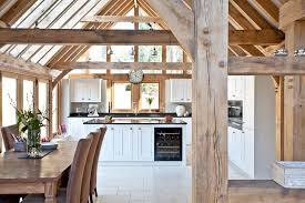 kitchen diner extension ideas traditional vaulted ceiling kitchen diner with white