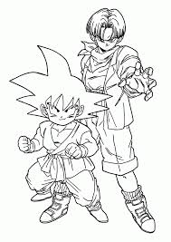 free printable dragon ball coloring pages kids dragon