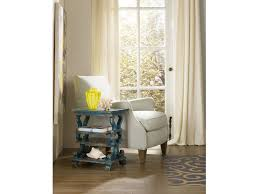 Blue Accent Table Hooker Furniture Living Room Sanctuary Blue Accent Table 531723