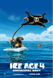 posters ice age 4