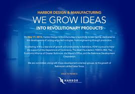 product design and manufacturing engineering harbor designs and