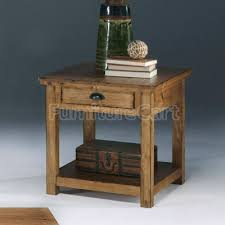 Pine End Tables Willow End Table Distressed Pine Progressive Furniture Distressed