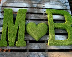 moss letters etsy
