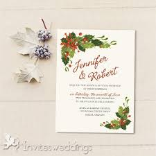 nightmare before christmas wedding invitations classic mistletoe christmas wedding invites iwi341