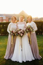 taupe bridesmaid dresses 2017 wedding ideas magazine weddings