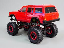 Custom Axial Scx10 1 10 Rc Jeep Cherokee 4x4 2 2 Rock Crawler 8 4v