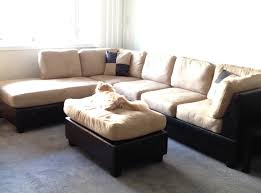 Grey Tufted Sectional Sofa by Sectional Sofas Sacramento Hotelsbacau Com