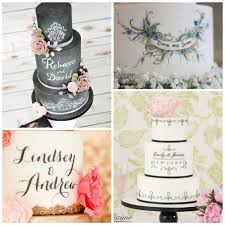 personalized wedding personalized wedding cake trends 2016