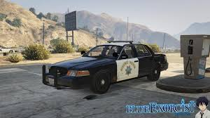 2011 ford crown victoria police interceptor san andreas highway