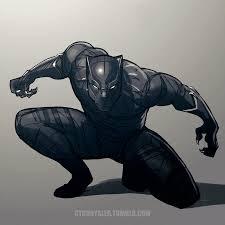 black panther by dctb on deviantart