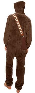 chewbacca mens onesie wars onesies for