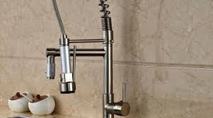 fancy kitchen faucets staggering handle pull kitchen faucet fancy pulldown