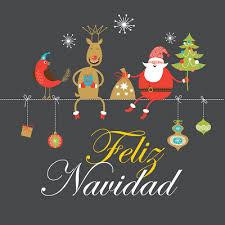 imagenes animadas de navidad para compartir personajes animados navideños en una bonita postal con mensaje de