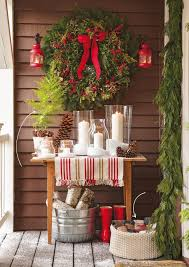 Christmas Decorations For Front Porch Pinterest by Decorate Your Porch For Christmas