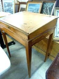 bureau ancien bureau d accolier ancien en bois bureau ancien ecolier photos