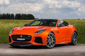 orange sports cars image jaguar 2016 f type svr orange cars metallic