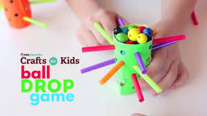 ball drop game pbs parents crafts for kids youtube