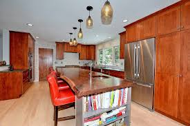 Kitchens With Hickory Cabinets Kitchen Remodels Streamline Enterprises Inc