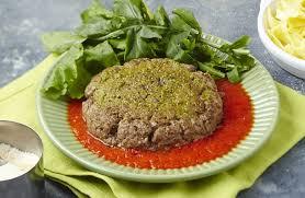 cuisine steak haché steak haché de boeuf au parmesan et au pesto recettes de cuisine