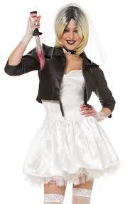 womens 80s bride of chucky halloween fancy dress costume ebay