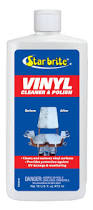 amazon com star brite vinyl cleaner and polish 16 oz boating